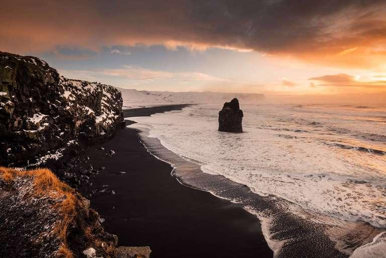 Drholaey Aussichtspunkt auf Island