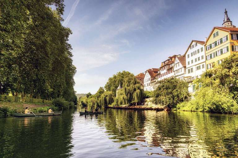Bootsverkehr auf dem Neckar