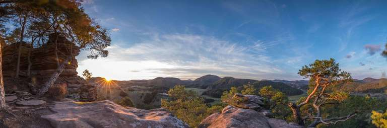 Sprinzelfelsen Panorama