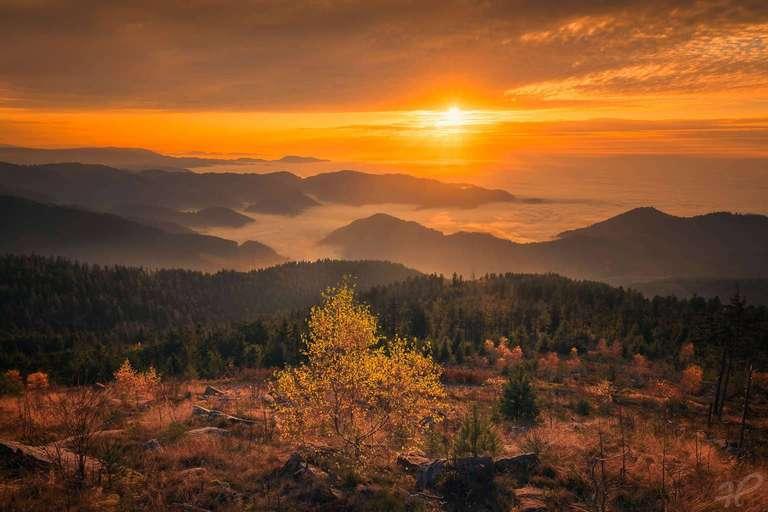 Herbstliche Inversion