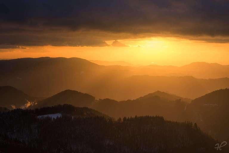 Ein aufregender Sonnenuntergang III