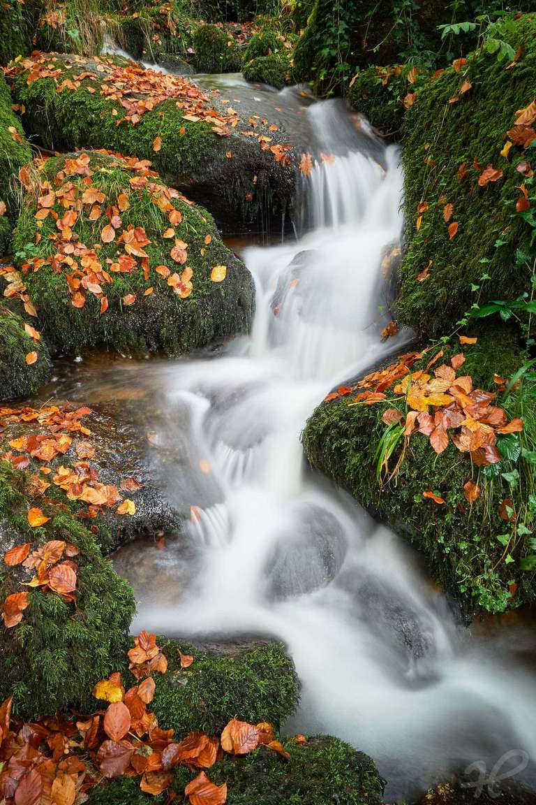 Gaishöll Wasserfälle im Herbst