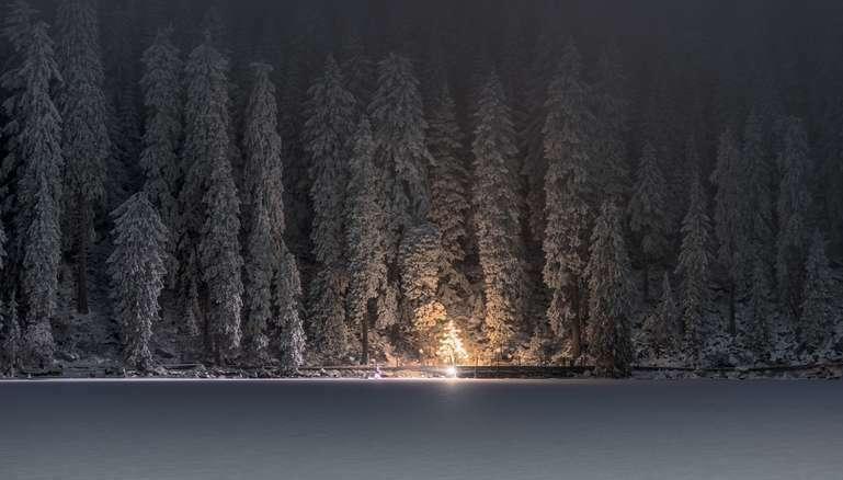 Weihnachten am Mummelsee