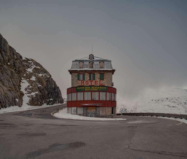 Belvedere Hotel am Furkapass, Schweiz