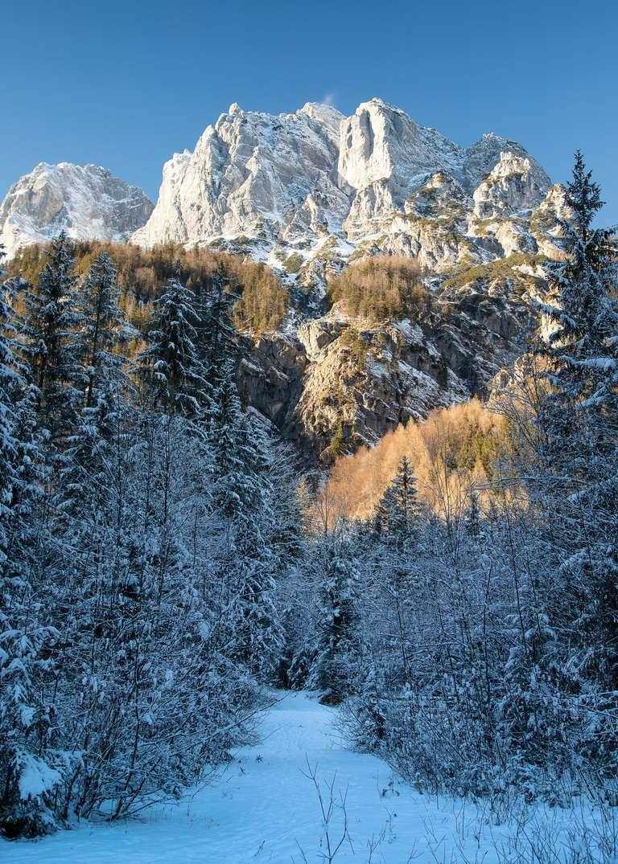 Winter in den Bayrischen Alpen