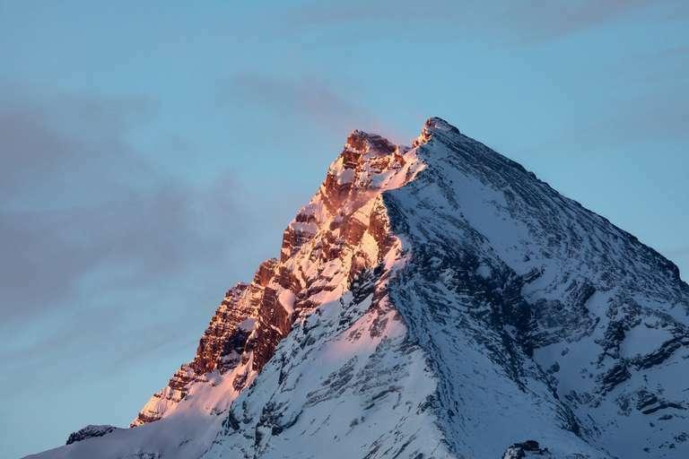 Watzmann im Morgenlicht 2