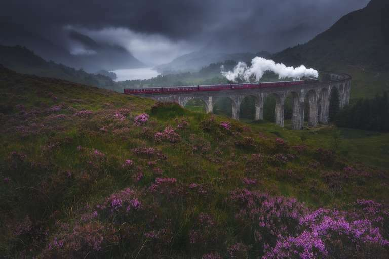 On the way to Hogwarts