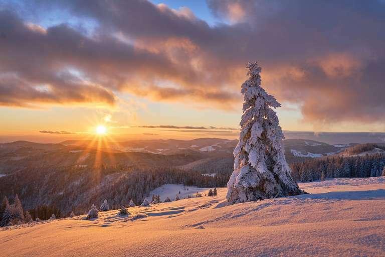 Winter auf dem Herzogenhorn 3:2