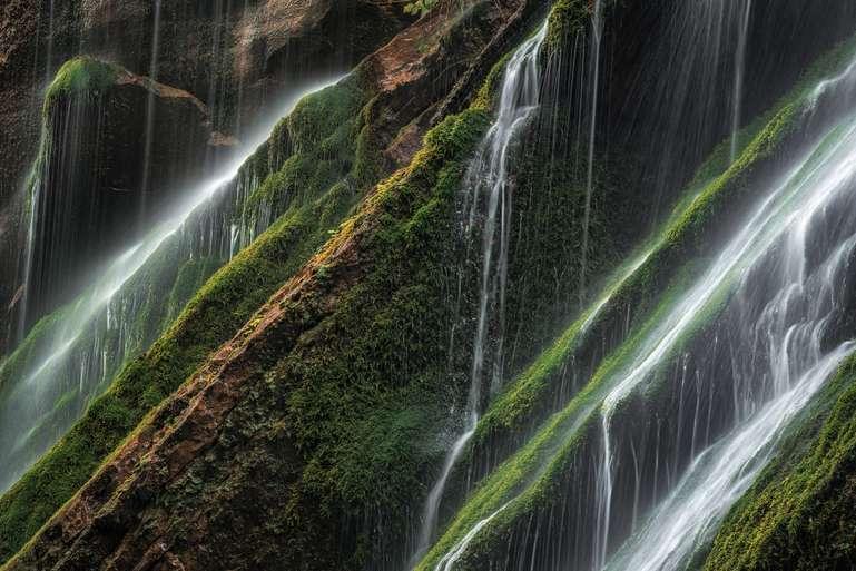 Wasserfalldetails