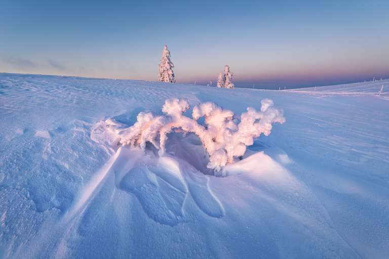 Eisformation auf dem Feldberg