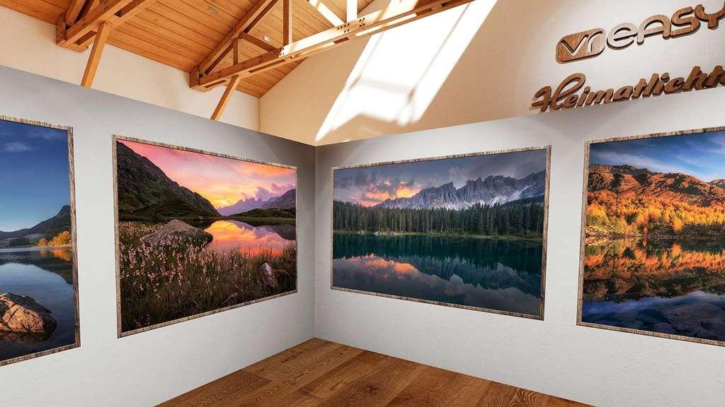 Virtuelle Fotoausstellung Landschaften der Alpen von André Wandrei