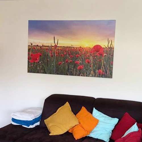 Das zweite Heimatfotos Wandbild für Sonja aus Bühl (Schwarzwald) ist ein Foto von Evi Seeger, gedruckt auf Leinwand