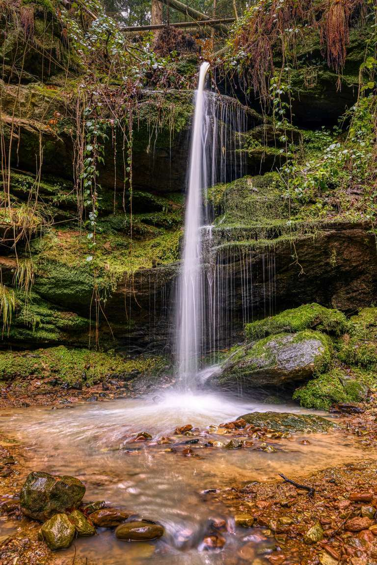 Wasserfall in der Pfalz