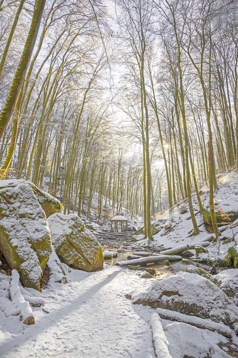 Schnee im Karlstal