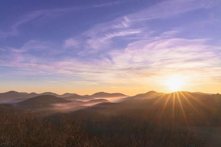 Bunter Nebel