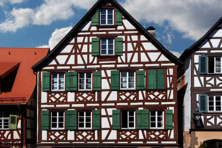 historisches Fachwerkhaus in Schiltach im Schwarzwald