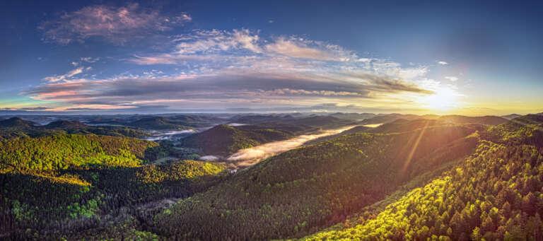 Die Pfalz von oben - Pfälzerwald