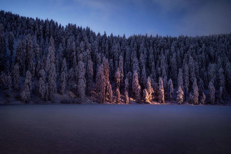 Mummelsee im Winter