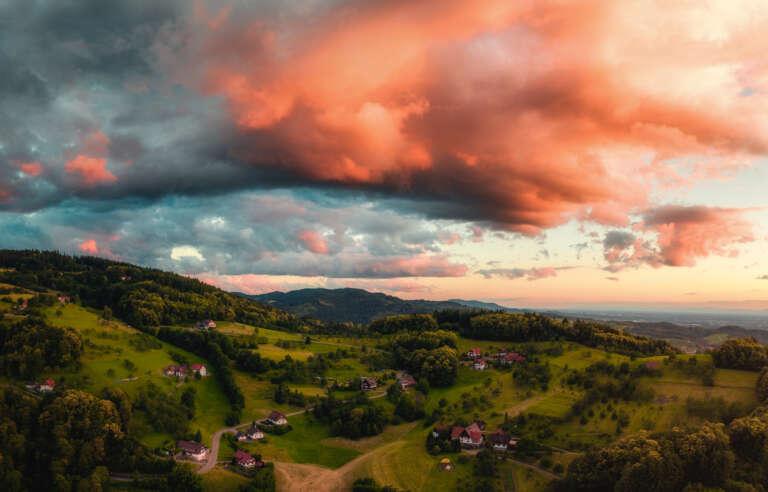 Wolkendrama im Schwarzwald